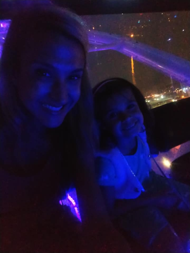 Ani and I in ferris wheel